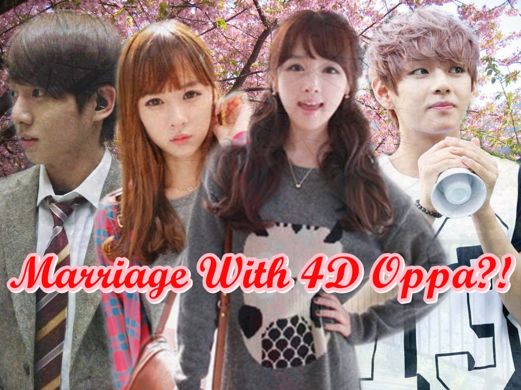 FF MARRIAGE WITH 4D OPPA BTS Bangtan Pt1 FANFICTIONSIDE